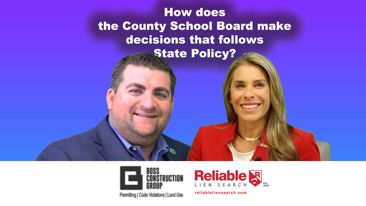How does the County School Board make decisions that follows State Policy? | Interview w/Donna Korn
