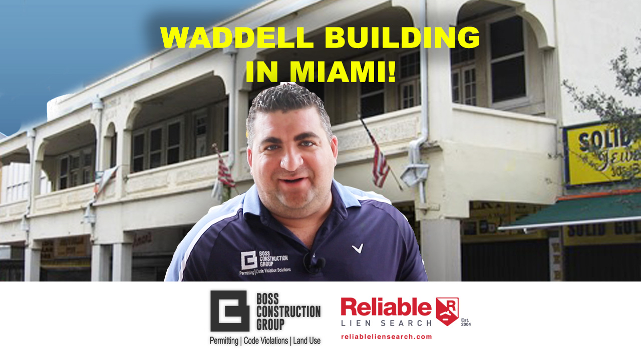Waddell Building in Miami!
