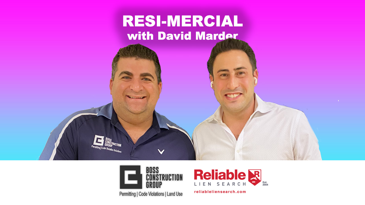 We're Making Resimercial not a dirty word anymore with David Marder from Level Realty