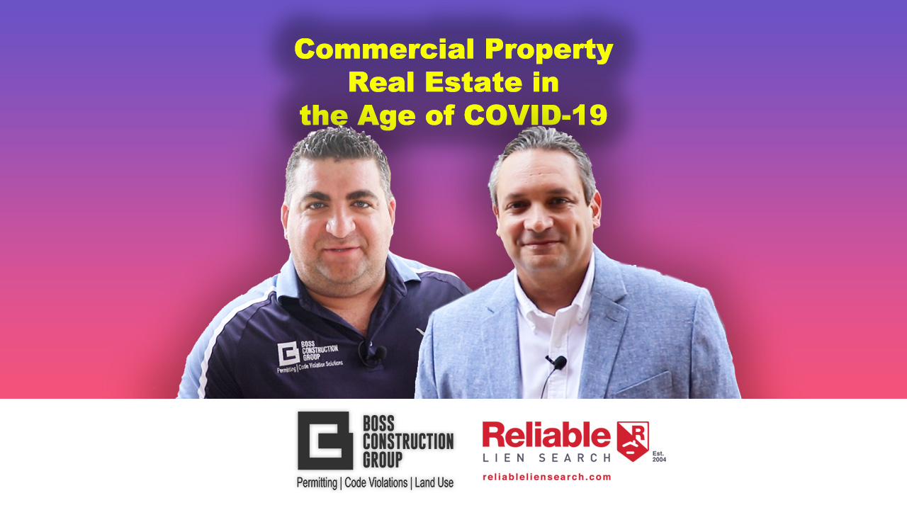 Commercial Property Real Estate in the Age of COVID-19