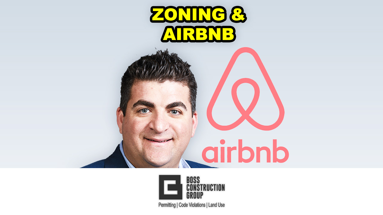 Zoning and Airbnb | BOSS Construction Group